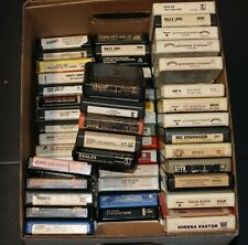 Classic Rock & Pop 8 Track Tape Cartridges Various artists REPAIRED FULLY TESTED