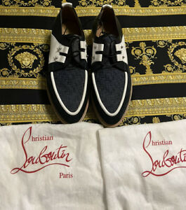 BRAND NEW CHRISTIAN LOUBOUTIN SHOES LOAFERS RARE EXCLUSIVE SIZE 41 US 8