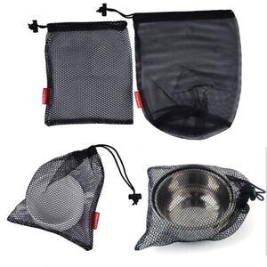 Nylon Mesh Drawstring Bag for Cutlery Bottle Pot Pan Kettle Mesh Storage Bag_SI