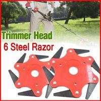 3/5/6Steel Blades Razors 65Mn Lawn Mower Grass Eater-Trimmers Head Brush Cutter