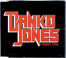 DANKO JONES - I WANT YOU - CD SINGLE - MINT