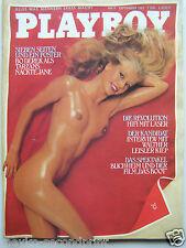 Playboy - D 9/1981,  Bo Derek, Uschi Termath, Silvia Kaiser, Silvia Durant