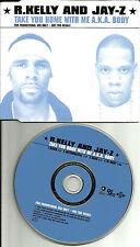 R. KELLY JAY Z Take you Home RADIO & INSTRUMENTAL EUROPE Made PROMO DJ CD Single