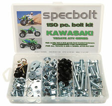 150pc KAWASAKI TECATE ATV Bolt Kit plastic engine lug frame exhaust 3 OR 4 wheel