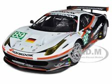 FERRARI 458 ITALIA GT2 24 HOURS OF LE MANS #89 ELITE 1/18 CAR BYHOTWHEELS X5473
