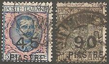 1922 Occupazioni Levante/Costantinopoli S.N°. 68/67 Usati