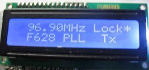 FM EXCITER PLL TRANSMITTER 1 WATT 80 - 109 Mhz BROADCAST NEW
