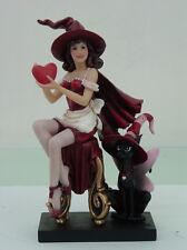 Sweet Valentine Witch Figurine by Brigid Ashwood Statue St. Valentines