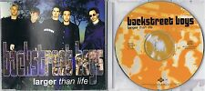 Backstreet Boys - Larger Than Life -  Maxi CD MCD - IF YOU KNEW WHAT I KNEW