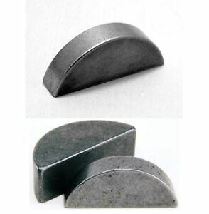 METRIC WOODRUFF KEYS SIZES 2mm 3mm 4mm 6mm 8mm 10mm Gears Motor Shaft FREE P&P