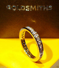 Goldsmiths Eternity Yellow Gold Fine Rings