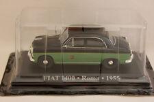 1/43 IXO Altaya TAXI FIAT 1400 - Roma - 1955 Car/ Automobile
