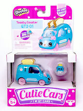 Shopkins Cutie Cars QT2-01 Toasty Coaster Series 2 New