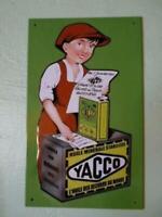 PB23F PLAQUES PUB tolée L'age d'or de l'Automobile : YACCO CADEAU 17*28 CM