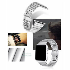 Para Apple Reloj Series 4 44mm Acero Inoxidable Pulsera de Eslabones Correa