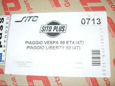 Marmitta Sito 713 Piaggio Luberty 50 4t Vespa 50 ET4 4t Exhaust system