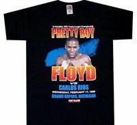 Mayweather VS Rios Fight Shirt Floyd Throwback Boxing 90's Retro Rare DD1256