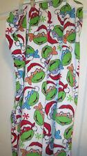 Christmas Teenage Mutant Ninja Turtle Pajama Bottoms Fleece Size XL 14/16