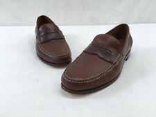 Trask Sadler Brown Leather Loafer Size 10.5M L1877