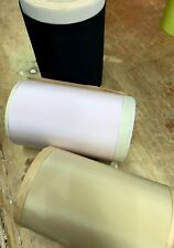 """Vintage Rayon 5"""" Wide Ribbon 1yd Made in Usa"""