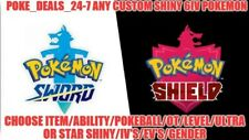 Custom Shiny Pokémon ! 6IV Battle Ready for Pokemon Sword and Shield !