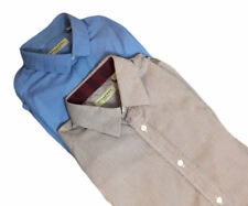 Burberry Button Up Casual Shirt Bundle Blue Patterned 15.5 39 Tailored