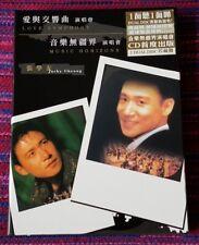 Jacky Cheung ( 張學友 ) ~ 愛與交響曲演唱會 + 音樂無疆界演唱會 (2DualDisc) (Audio + DVD Video) Cd