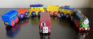 Lot Of  Thomas Trains  Car. Wooden Diecast & Plastic