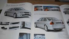 Opel Vectra 2001 Irmscher Prospekt neu Tuning Opel 18 Seiten