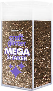 "Hemway Extra Chunky Craft Glitter MEGA Shaker - 425g 1/24"" 0.04"" 1mm"