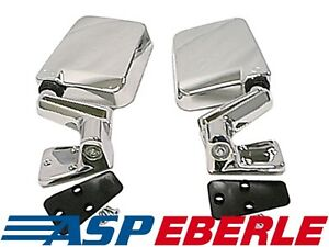 Außenspiegel Mirror Kit Chrom Spiegel Set Jeep Wrangler TJ 96-02