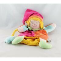 Doudou et compagnie marionnette fée magicienne multicolore - Poupée - Lutin Mari