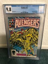 Avengers #257 CGC 9.8 White pages 1st App Nebula