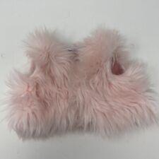 Build-A-Bear Clothing ~ Pink Faux Fur Vest