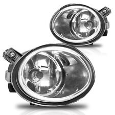 01-05 BMW E46 M3 & 00-03 E39 M5 Fog Lights Pair Set Lens w/Bulbs - Clear