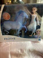 1 Disney Frozen 2 ELSA & The NOKK Water Spirit Horse Deluxe Figure Doll Playset