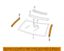 GM OEM-Windshield Seal Right 15704282