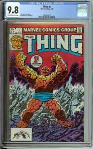 THING #1 CGC 9.8 OW/WH PAGES