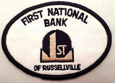 First National Bank Of Russellville Uniform Patch
