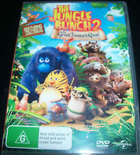 The Great Jungle Bunch 2 The Great Treasue Quest (Aust Region 4) DVD - Like New