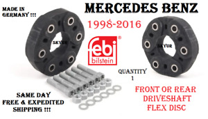 Mercedes W203 W202 W210 C212 W211 W164 W220 Drive Shaft Flex Joint Disc KIT FEBI
