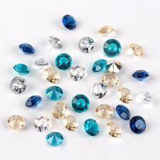1000PCS алмазные конфетти кристалл акриловый свадебная вечеринка стол разброс украшение