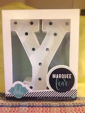 Marquee Letter ( Y)Love Lighted ( Y)Sign Heidi Swapp American Crafts New in Box