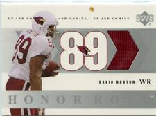 David Boston 2002 Upper Deck Honor Roll Up and Coming Game-Worn Jersey OSU