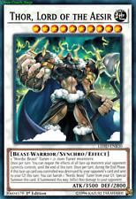 Thor, Lord of the Aesir LEHD-ENB30 X 1 Mint YUGIOH Effect Synchro Monster