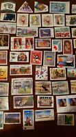 Canada stamps 50 differents used (Lot 83)