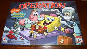 Spongebob Squarepants Operation Game Replacement Parts & Pieces 2007 Funatomy