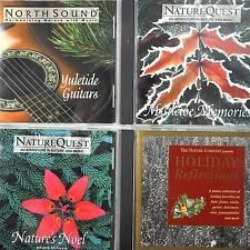 Nature Company Quest North Sound Christmas 4 CD Lot Mistletoe Kurnow Guitars