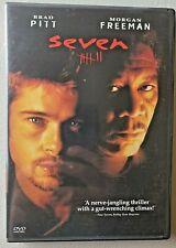 Seven Se7en 1995 David Fincher 60% 4+ Dvds + Free Shipping $2 Each Dvd