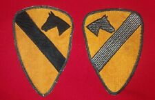 PATCH 1st CAVALRY DIVISION CUT EDGE US ARMY VIETNAM